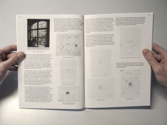 Artist book by Saskia Janssen published by Roma Publications
