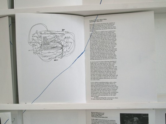 Saskia Janssen, artist book A Glass of Water at Ellen de Bruijne PROJECTS Amsterdam