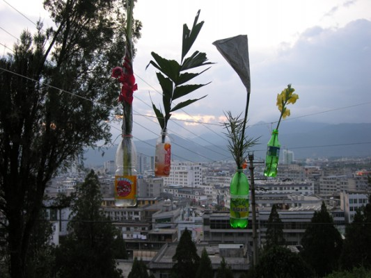 Saskia Janssen, at artist residency Lijiang Studios