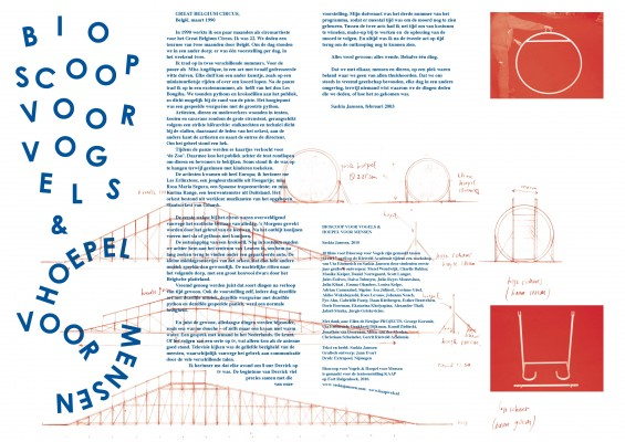 Saskia Janssen printed text for KAAP exhibition, graphic design Jaan Evart