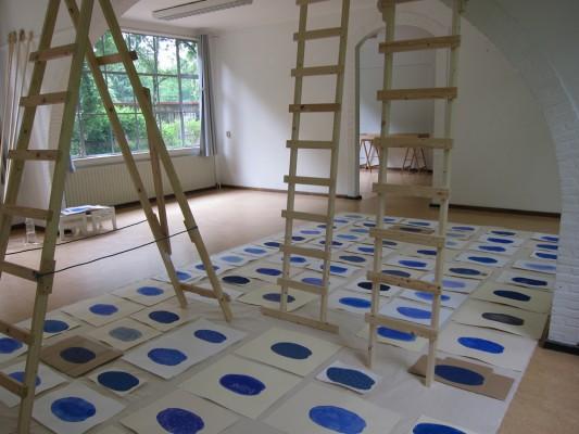 Saskia Janssen, 108 meditation drawings at Het Vijfde seizoen, Den Dolder