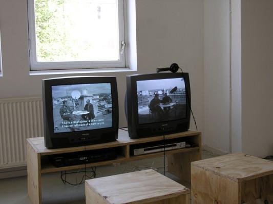 overview of exhibition by Saskia Janssen, artist, at Ellen de Bruijne PROJECTS, 2003