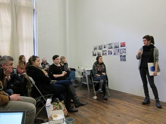 Saskia Janssen and George Korsmit, artist talk at ISCP
